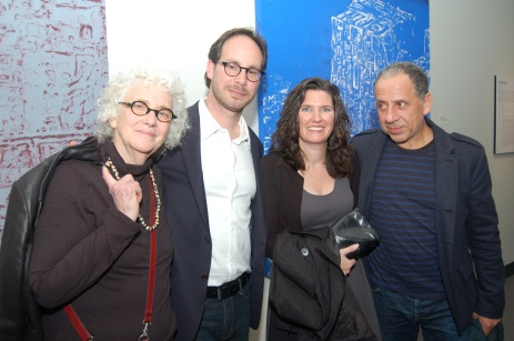 Joan Snyder, Joe Fig, Cristin Tierney & Jorge Tacla